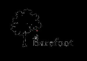 Barefoot logo png